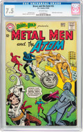Silver Age (1956-1969):Superhero, The Brave and the Bold #55 Metal Men and the Atom (DC, 1964) CGC VF- 7.5 Off-white pages....