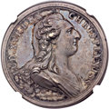 Betts Medals, 1783 Treaty of Versailles, Betts-612, AU55 NGC. ...