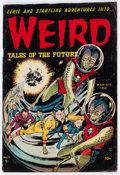 Golden Age (1938-1955):Horror, Weird Tales of the Future #6 (Aragon, 1953) Condition: VG....