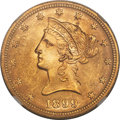 United States, United States: Republic gold 10 Dollars 1899 MS65 NGC,...