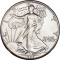 """United States, United States: Republic silver """"American Eagle"""" Dollar 1986 MS70NGC,..."""