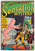 Golden Age (1938-1955):Horror, Sensation Mystery #111 (DC, 1952) Condition: VG/FN....