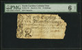 Colonial Notes:North Carolina, North Carolina March 9, 1754 15s PMG Good 6 Net.. ...