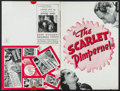 "Movie Posters:Adventure, The Scarlet Pimpernel (United Artists, 1935). Uncut Pressbook (12 Pages, 12"" X 18""). Adventure.. ..."