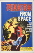 """Movie Posters:Science Fiction, Phantom from Space (United Artists, 1953). One Sheet (27"""" X 41"""").Science Fiction.. ..."""