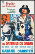 "Movie Posters:Exploitation, Satan's Sadists (Independent International Pictures, 1969). Belgian(14"" X 21.5""). Exploitation.. ..."