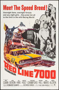 "Movie Posters:Sports, Red Line 7000 (Paramount, 1965). One Sheet (27"" X 41"") & Pressbook (22 Pages, 12.25"" X 15""). Sports.. ... (Total: 2 Items)"