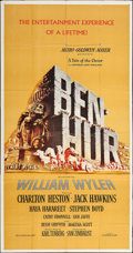 "Movie Posters:Academy Award Winners, Ben-Hur (MGM, 1959). Three Sheet (41"" X 82""). Academy AwardWinners.. ..."