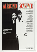 "Movie Posters:Crime, Scarface (Universal, 1983). Italian 2 - Fogli (39.5"" X 55"").Crime.. ..."