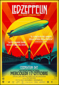 """Movie Posters:Rock and Roll, Led Zeppelin: Celebration Day (Omniverse Vision, 2012). Italian 2 -Fogli (38.5"""" X 55""""). Rock and Roll.. ..."""
