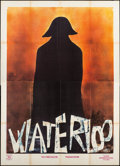 "Movie Posters:War, Waterloo (Euro International, 1970). Italian 4 - Fogli (55"" X 75"").War.. ..."