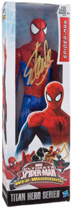 Miscellaneous Collectibles:General, Stan Lee Signed Spire-Man Figure....