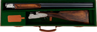 Cased Beretta S3EL Field Sidelock Double Barrel Shotgun