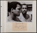 Boxing Collectibles:Autographs, Ken Norton, Don King, Etc. Signed Photographs and Cut Signature....