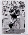 Football Collectibles:Photos, 1992 Brett Favre Original Photograph - Historically SignificantImage from Favre's 1st Game with Packers! ...