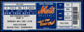 Autographs:Bats, 2004 Mike Piazza Breaks All Time Catchers' Home Run Record FullTicket....