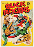 Golden Age (1938-1955):Science Fiction, Buck Rogers #5 (Eastern Color, 1943) Condition: GD+....