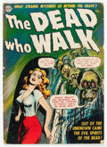 Golden Age (1938-1955):Horror, The Dead Who Walk #nn (Realistic Comics, 1952) Condition: GD/VG....
