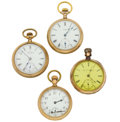 Timepieces:Pocket (post 1900), Four Pocket Watches. ... (Total: 4 Items)