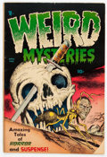Golden Age (1938-1955):Horror, Weird Mysteries #4 (Gillmor, 1953) Condition: VG....