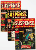 Golden Age (1938-1955):Horror, Suspense Group of 5 (Atlas, 1952-53).... (Total: 5 Comic Books)