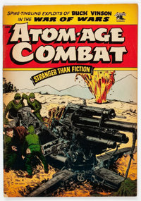Atom-Age Combat #4 (St. John, 1953) Condition: FN-