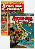 Golden Age (1938-1955):War, Atom-Age Combat #2 and 5 Group (St. John, 1952-53).... (Total: 2 Comic Books)