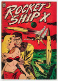 Golden Age (1938-1955):Science Fiction, Rocket Ship X #1 (Fox, 1951) Condition: GD/VG....