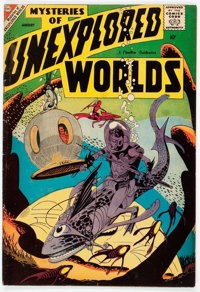 Mysteries of Unexplored Worlds #11 (Charlton, 1959) Condition: FN+