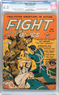 Golden Age (1938-1955):War, Fight Comics #19 (Fiction House, 1942) CGC FN 6.0 Cream to off-white pages....