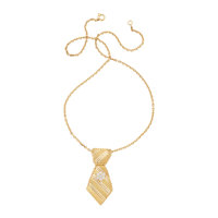 Diamond, Gold Necklace, French