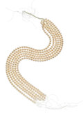 Estate Jewelry:Pearls, Cultured Pearl Hank. ... (Total: 6 Items)