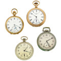 Timepieces:Pocket (post 1900), Four 16 Size Runners. ... (Total: 4 Items)