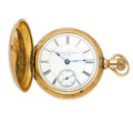 """Timepieces:Pocket (post 1900), Illinois """"Imperial Watch Co. Chicago"""" 18 Size Transitional . ..."""