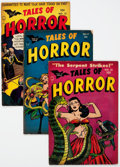 Golden Age (1938-1955):Horror, Tales of Horror #10-13 Group (Toby Publishing, 1954) Condition:Average VG.... (Total: 4 Comic Books)