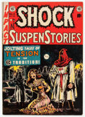 Golden Age (1938-1955):Horror, Shock SuspenStories #6 (EC, 1952) Condition: VG+....