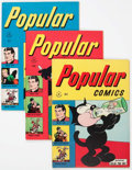 Golden Age (1938-1955):Miscellaneous, Popular Comics Group of 9 (Dell, 1946-48) Condition: Average FN.... (Total: 9 Comic Books)