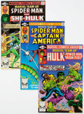 Modern Age (1980-Present):Superhero, Marvel Team-Up #105-109 Box Lot (Marvel, 1981) Condition: AverageVF/NM....