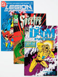 Modern Age (1980-Present):Superhero, DC Modern Age Comics Box Lot (DC, 1980s-90s) Condition: AverageVF/NM.... (Total: 2 Box Lots)