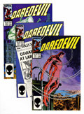 Modern Age (1980-Present):Superhero, Daredevil Group (Marvel, 1971-91) Condition: Average NM+....(Total: 57 Comic Books)