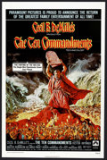 """Movie Posters:Historical Drama, The Ten Commandments (Paramount, R-1972). One Sheet (27"""" X 41"""").Historical Drama. ..."""