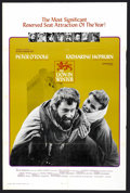 "Movie Posters:Historical Drama, The Lion in Winter (Columbia, 1968). One Sheet (27"" X 41"").Historical Drama. ..."