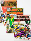 Modern Age (1980-Present):Superhero, Official Handbook of the Marvel Universe Box Lot (Marvel, 1980s)Condition: Average VF/NM.... (Total: 2 Box Lots)