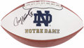 Football Collectibles:Tickets, Paul Hornung Signed Football....