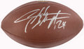 Football Collectibles:Balls, Charles Woodson Signed Football....
