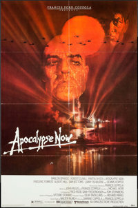 "Apocalypse Now (United Artists, 1979). One Sheet (27"" X 41""), Lobby Cards (2) (11"" X 14"") & Uncu..."