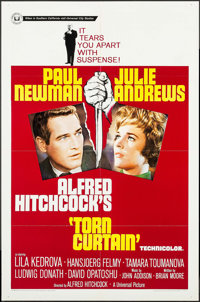 """Torn Curtain & Other Lot (Universal, 1966). One Sheets (2) (27"""" X 41""""). Hitchcock. ... (Total: 2 Items)"""