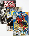 Modern Age (1980-Present):Superhero, Moon Knight Box Lot (Marvel, 1980s-90s) Condition: AverageVF/NM....