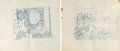 Animation Art:Production Drawing, The Old Mill Animation Drawings Group of 4 (Walt Disney,1937).... (Total: 4 Original Art)