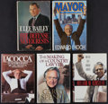 Miscellaneous Collectibles:General, Famous Lawyers Signed Hardcover Books Lot of 5. ...